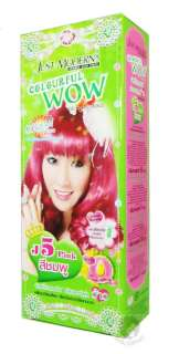 Jus Modern Colourful Wow Hair Colour Cream Korean rend Pink Hair Dye