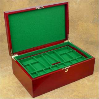 Chess Coffer Billiard Cloth Sets Pieces Storage Premium