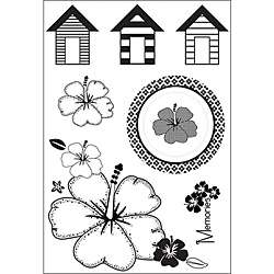 Acrylic Seaside Clear Stamps