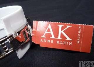 NEW Ladies Anne Klein Round Silver Bracelet Dress Watch