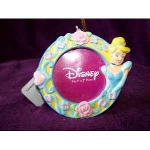 Disney Princess Cinderella Hanging Picture Frame Ornament