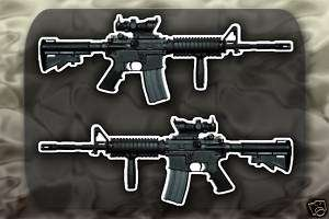 M4 Carbine SOPMOD Gun decal sticker M4A1 Rifle