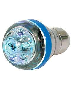 Pyle Multi Colored LED Manual Gear Shifter Knob