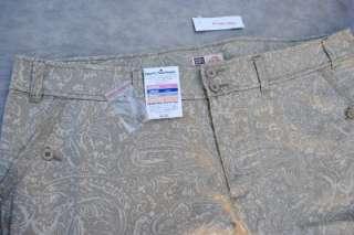Womens Faded Glory Classic Fit Capri Sz 22W Jeans 44x22
