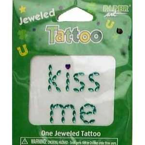St. Patricks Kiss Me Tatoo Case Pack 960 Everything