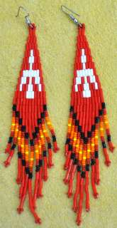 Native American Beaded Earrings.