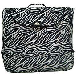 American Flyer Zebra Print 48 inch Garment Bag