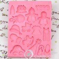 Cake decorating Cake toppers Decoration Silicone molds No.13   BABY