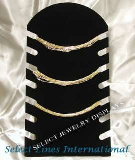 Black Velvet Necklace Chains Jewelry Display Stand 14