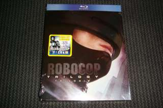 NEW Robocop: Collection Trilogy (Blu ray Disc, 2010)