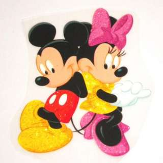 Disney Mickey & Minnie Mouse iron on Patch Transfer #21