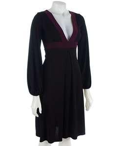 Ruby Long Sleeve Colorblock Dress