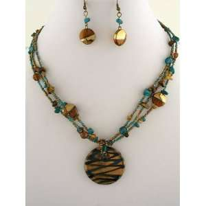 Fashion Jewelry ~ Murano Glass Necklace Set Everything