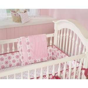 Wendy Bellissimo Raspberry Medallion 3 Piece Crib Set: Baby