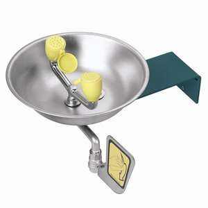 Wash with Stainless Steel Bowl, Dual Spray Heads, Flip Top Dust Covers