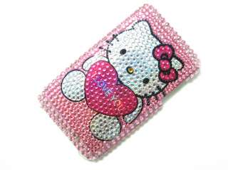 Hello Kitty Rhinestone bling Case iPod Touch 2nd 3rd