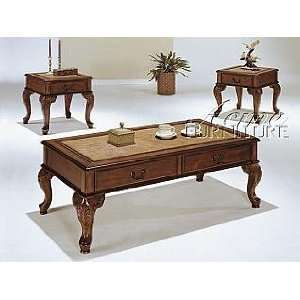 Acme Furniture Coffee End Table 3 piece 09652 set: Home