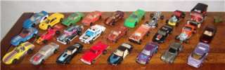 Vintage Diecast Toy Cars Trucks Lot of 27 Matchbox Hot Wheels