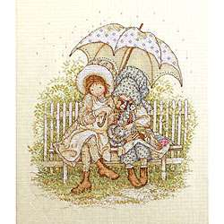Holly Hobbie Best Friends Counted Cross Stitch Kit
