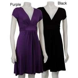 Tammy Mars Womens Short sleeve Empire Waist Dress