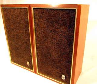 Vintage Grundig RB 25G 2 Way Bookshelf Speaker System Speakers 20W 8