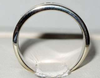 DIAMOND 0.75ct SI G CHANNEL SET RING 14K WG HIGH QUALITY. COMFORT FIT
