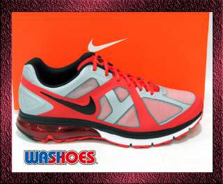 2011 Nike Air Max Excellerate Red White Grey Silver Noir US 7.5~11.5