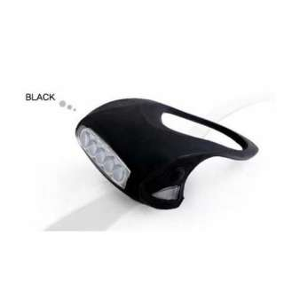 Bike Bicycle Silicone Frog Head Front Lamp Warning Rear Light