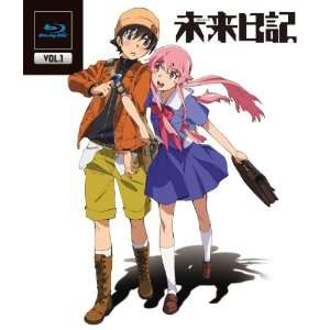 Animation   Future Diary (Mirai Nikki) Vol.1 [Japan BD