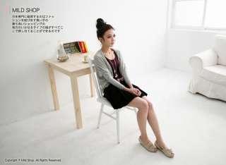 Japanese Korean Fashion Simple Pure Long Sleeve Jacket