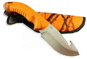 Buck Omni Hunter Gut Hook 12 PT Orange Camo 394CMG9 NEW