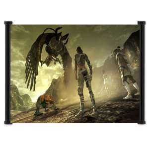 Lost Odyssey Game Fabric Wall Scroll Poster (24x15
