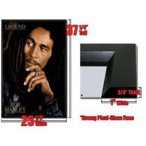 Framed Bob Marley Legend Poster Album Cover Fr33426