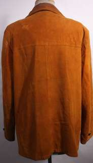 WOMENS VTG CUTE SOFT LEATHER ROCKER JACKET/SHIRT sz XL
