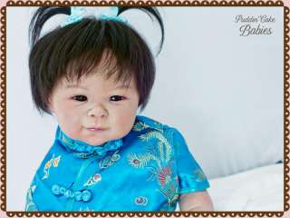 Baby Shao by Adrie Stoete Reborn by Puddin Cake Babies