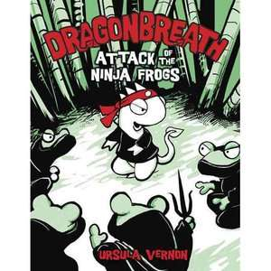 Dragon Breath2 Attack of the Ninja Frogs Can This Ancient Marvel Be