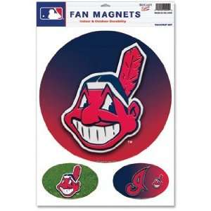 Cleveland Indians Car Magnet Set: Sports & Outdoors