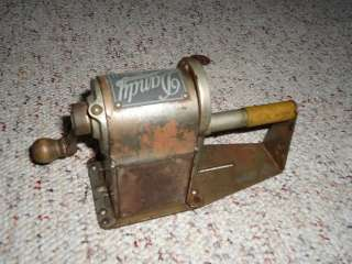 1920s 30s Dandy Pencil Sharpener VINTAGE automatic co CHICAGO