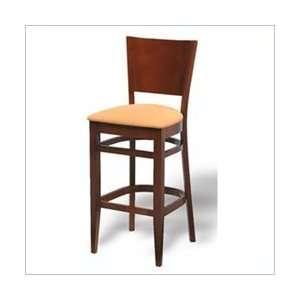 Vinyl   Naugahyde Paprika Grand Rapids Chair Wood Solid