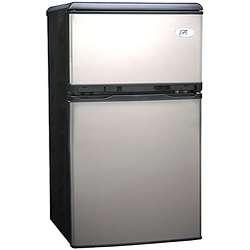 Stainless Steel RF 320S Double Door Refrigerator