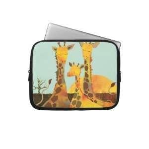 Giraffe Family Cute Animal 10 Laptop Sleeves Electronics