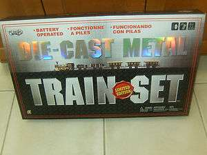 NEW BATTERY OPERATED DIE CAST METAL TRAIN SET