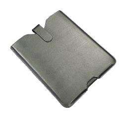 SKQUE Black Leather iPad Sleeve Case  Overstock