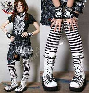 GOTHIC Punk Visual Kei D ring Corset Platform boot 25.5