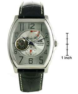 Orient Automatic Mens Open Heart Dial Watch