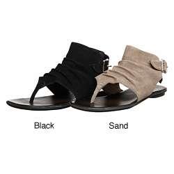 MIA Womens Hayat Suede Sandals  Overstock