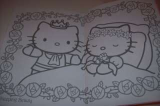 HELLO KITTY 32 Pg COLORING AND 20 STICKER BOOK