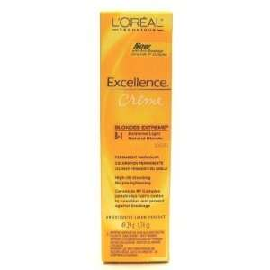 Oreal Excellence Creme Extreme # B1 Natural Blonde (Case of 6) Beauty