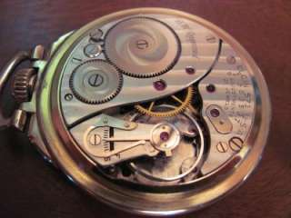 ELGIN 23 JEWELS BW Raymond ADJ 9 position POCKET WATCH 10K GOLD FILLED