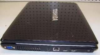 TOSHIBA SATELLITE A215 S7444 LAPTOP DUAL CORE 1.9GHz/ 1GB/ 120GB